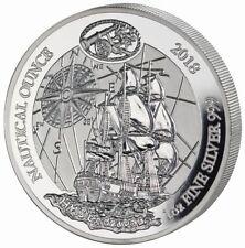 1 oz Silber Ruanda PP Endeavour 2018 Proof nautische Unze Ausgabe 2