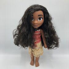 "Disney Princess Moana 14"" Doll Polynesian Girl Jakks"
