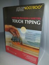 NEW Factory Sealed W/Creased box TOUCH TYPING Cassette for ATARI  400/800 L12