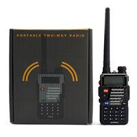 Baofeng UV-5R Plus Dual Band Vhf Uhf 136-174/400-520MHz Radio RICETRASMITTENTE