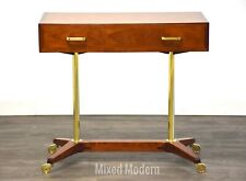 Edward Wormley for Dunbar Mid Century Modern Cherry Dressing Table Vanity