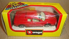 BBURAGO 1/43 DIE-CAST METAL MODEL 4104 FERRARI TESTAROSSA (1984) BURAGO