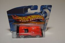V 1:64 HOTWHEELS PANOZ LMP-1 ROADSTER S RED MINT BOXED ON SHORT CARD