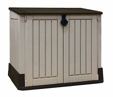 Garden Furniture Storage Shed Store Cupboard Tools Resin Plastic Outdoor Patio