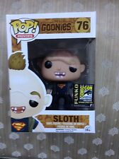 Funko Pop Vinyl The Goonies Sloth Sdcc Ltd 2500 Pieces
