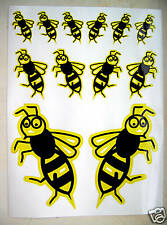 vespa scooter wasp logo stickers decals