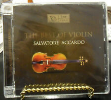 THE BEST OF VIOLIN SALVATORE ACCARDO 24 K GOLD CD 067 ONLY 496 MADE AUDIOPHILE