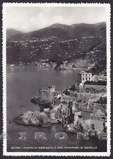 SALERNO MAIORI 01 CASTELLO - RAVELLO Cartolina FOTOGRAFICA viaggiata 1956