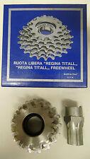 Vintage NOS Regina Extra Titall freewheel 12-18 Titanium/Alu Campagnolo compatab