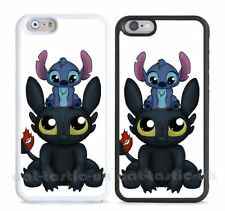 Lilo & Stitch Glossy Mobile Phone Fitted Cases/Skins