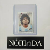 Panini MARADONA sticker 1970 fifa world cup wcs LIMITED EDITION MINT FOR GRADING