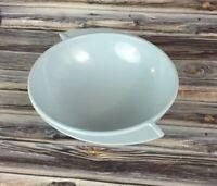 "Vintage Boonton Ware 8"" Serving Bowl LT BLUE Winged Mid Century 604-10 Melamine"