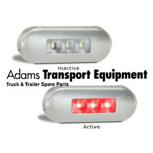 LED Autolamps 86RM Red Rear End Marker Lamp - 5 Year Warranty
