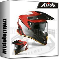 AIROH CMP55 HELM MOTORRAD ON-OFF ROT GLOSS L.E. COMMANDER PROGRESS XXL
