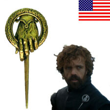 US! Charming Game of Thrones Hand of the King Lapel Replica Costume Pin Brooch