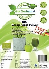 Bio Gerstengras Pulver Anbau in Deutschland 1kg*