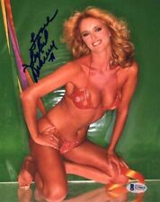 SYBIL DANNING SIGNED AUTOGRAPHED 8x10 PHOTO VERY SEXY PRETTY BIKINI BECKETT BAS