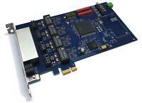 Digium Junghanns.net QuadBRI PCIe x1 Voip Server PBX Karte HFC-4S Chipsatz