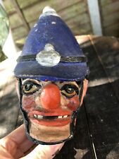 3 Old Puppet Heads Policeman Monkey President