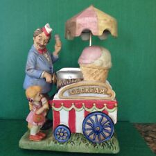 Htf Melody In Motion Ice Cream Vendor ~ Animated Music Box ~