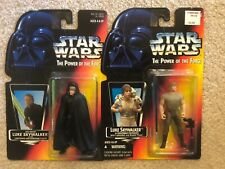 Set Of 2 Star Wars Red Card Luke - Jedi Knight And Dagobah Fatigues