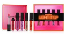 Smashbox Light It Up, Gloss to Go Set, New, Bare Orange Fusica Liliac Ruby Light