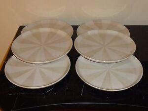 6 Jonathan Adler Happy Home Stripes Salad Plates