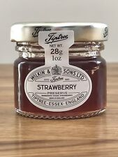 20 x 28g Mini Tiptree strawberry jams Ideal For Wedding Favours