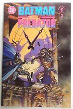 ESAR4441. DC BATMAN VERSUS PREDATOR #2 Graphic Novel Dark Horse Comics (1991)