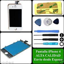 Pantalla Blanca Completa Tactil + LCD + Marco Original para Iphone 4 4G Blanco
