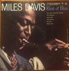 Miles Davis - Kind of Blue - Blue Vinyl Open OOP VG+/VG+