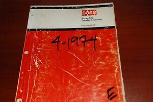Custodia 980 Crawler Excavator Trackhoe Parts Manual Book Catalog list spare