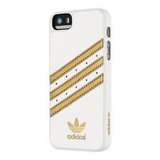 New Adidas Originals Hard Case Cellphone Cover iPhone 5 5S Case White Gold $35