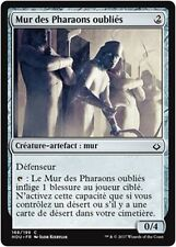 MTG Magic HOU FOIL - Wall of Forgotten Pharaohs/Mur Pharaons oubliés, French/VF