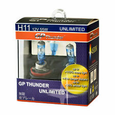 GP Thunder UNLIMITED 4500K H11 55W Bright White Xenon Light Bulbs On Sales