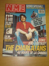 NME 2001 AUG 18 CHARLATANS WHITE STRIPES FOO FIGHTERS