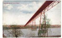 Undated Unused Postcard High Bridge St Paul Minnesota MN