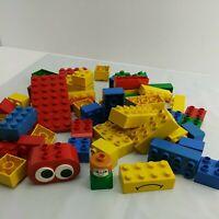 VTG 53 pc Lego Duplo Tyco Preschool Mixed Lot Building Brick Lot (3B1)