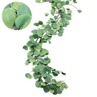 Pack Artificial Plants Garland Hanging Rattan Vine Wedding Greenery for Home Dec