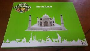 WORLD EXPLORERS 3D PUZZLE - THE TAJ MAHAL in Agra,India.New In Box