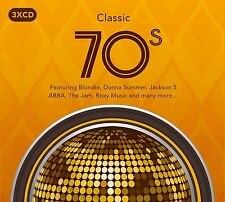 CLASSIC 70s 3CD SET - VARIOUS ARTISTS (September 16th 2016)