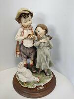 Capodimonte Italian Artwork Giuseppe Armani Figurines Gulliver's World 1980's