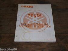 MANUEL REVUE TECHNIQUE D ATELIER ATC YAMAHA YT 60 TRI ZINGER 1984-1987 YT60 60YT
