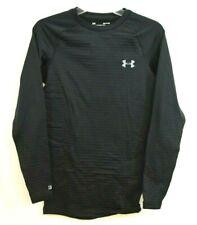 Under Armour Men's UA ColdGear Base 3.0 Top Baselayer Crew Shirt, Black Small S