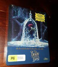 Beauty And The Beast (Blu-ray Disc, 2017, 2-Disc Set, Steelbook)