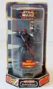 Kenner Star Wars Epic Force Darth Maul with rotating base
