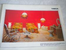 Vintage catalogue french Furniture TRECA 1970s design beds
