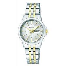 Citizen EQ0608-55A Women Stainless Steel Analog Quartz Watch