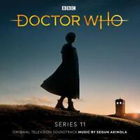DOCTOR WHO-SERIES 11 - OST-ORIGINAL SOUNDTRACK TV  2 CD NEW AKINOLA,SEGUN