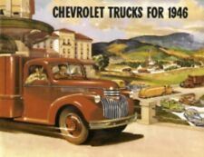 CHEVROLET 1946 Truck Sales Brochure 46 Chevy Pick Up